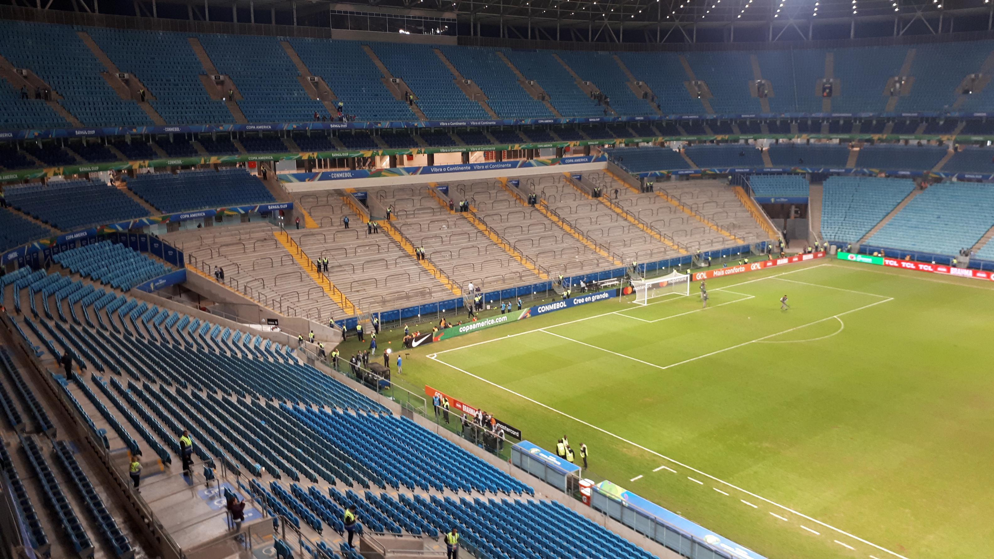 Copa América: Arena Do Gremio, el último refugio para Argentina
