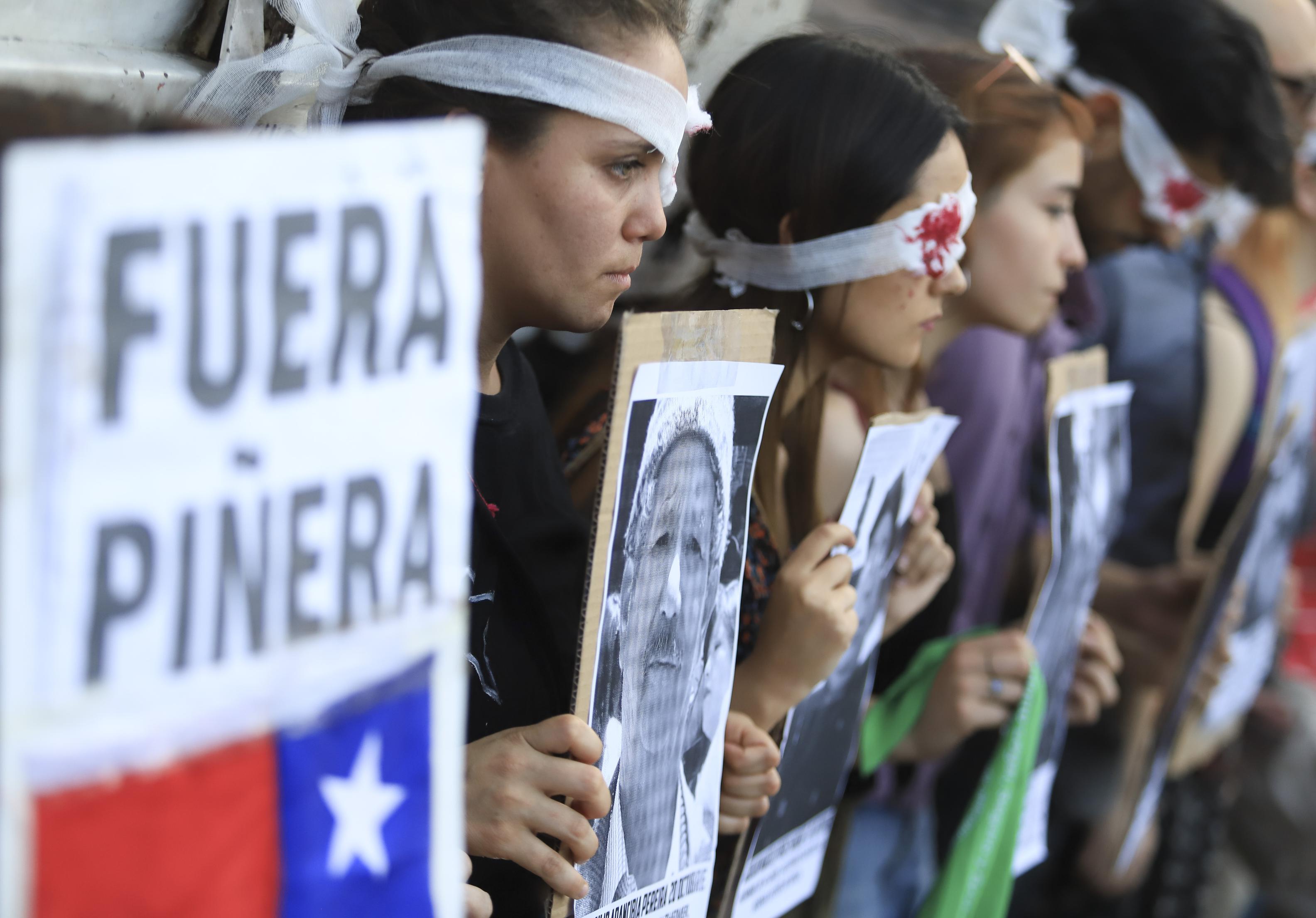 Casi 23.000 detenidos desde el inicio de las protestas en Chile