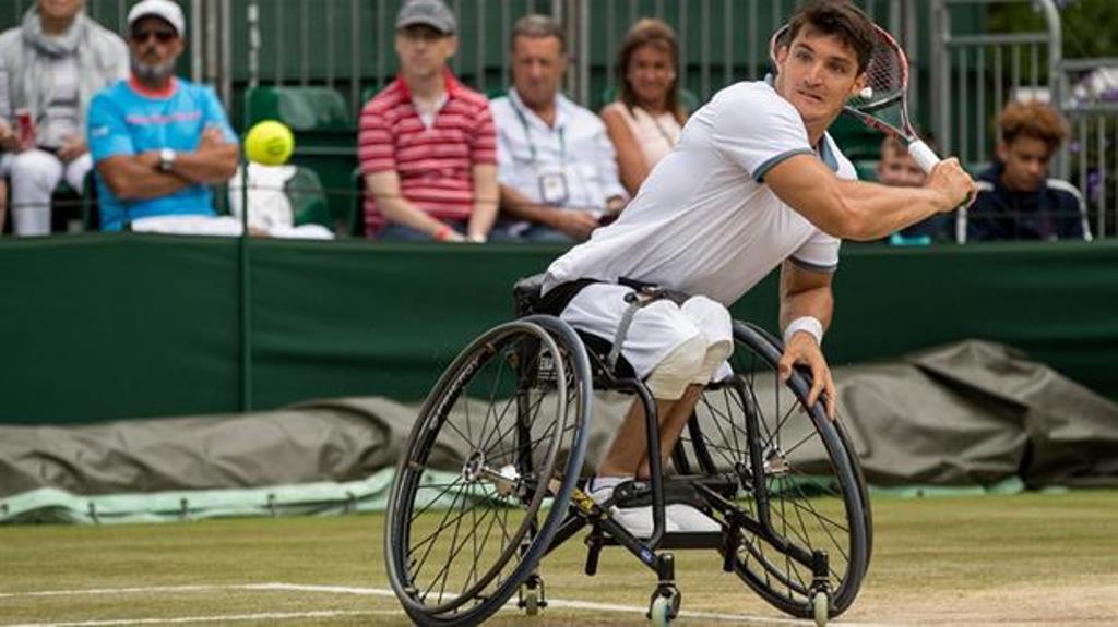 Llegó la silla de ruedas de Gustavo Fernández y podrá jugar en Australia