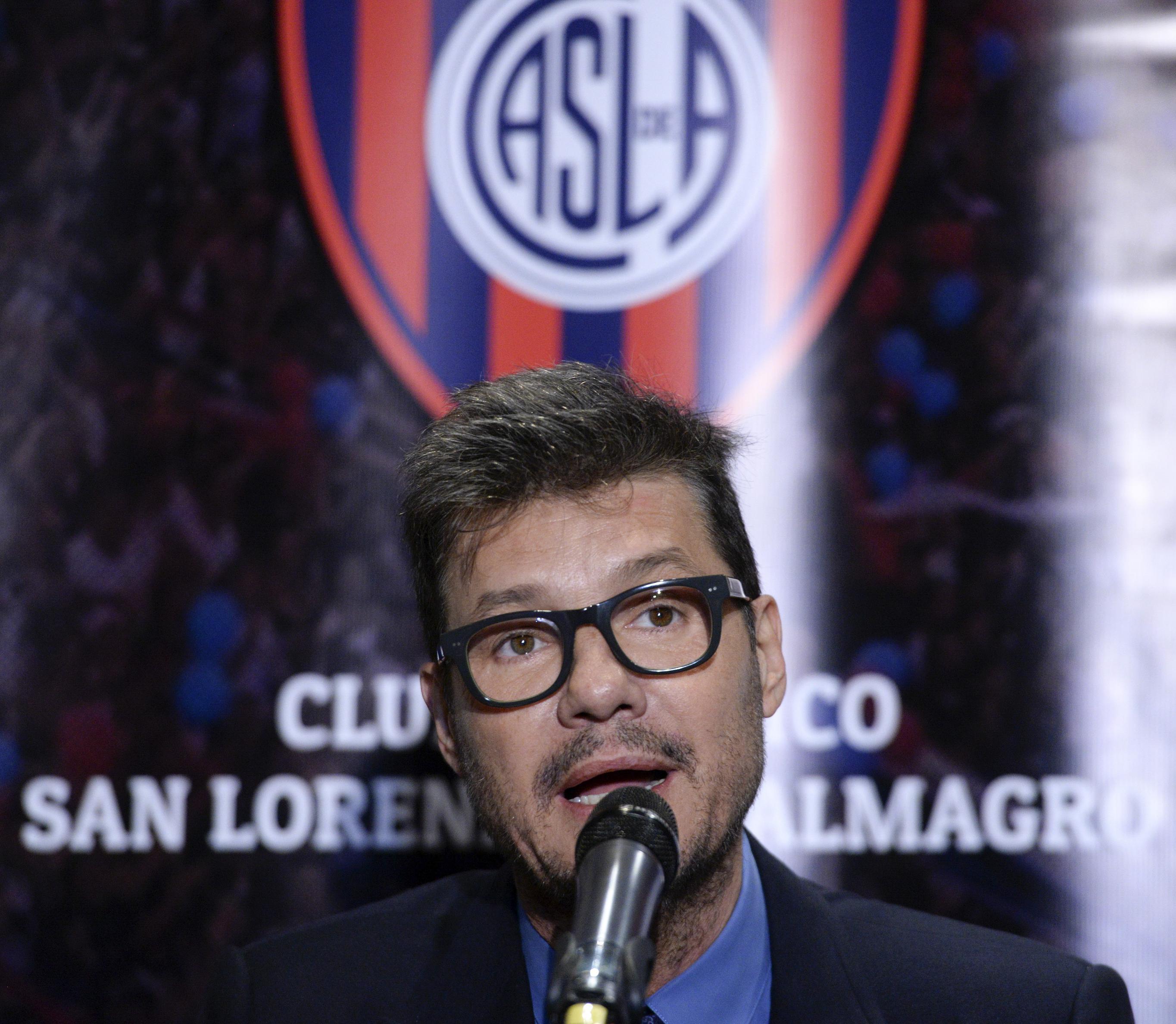 Tinelli será candidato a presidente en las elecciones de San Lorenzo
