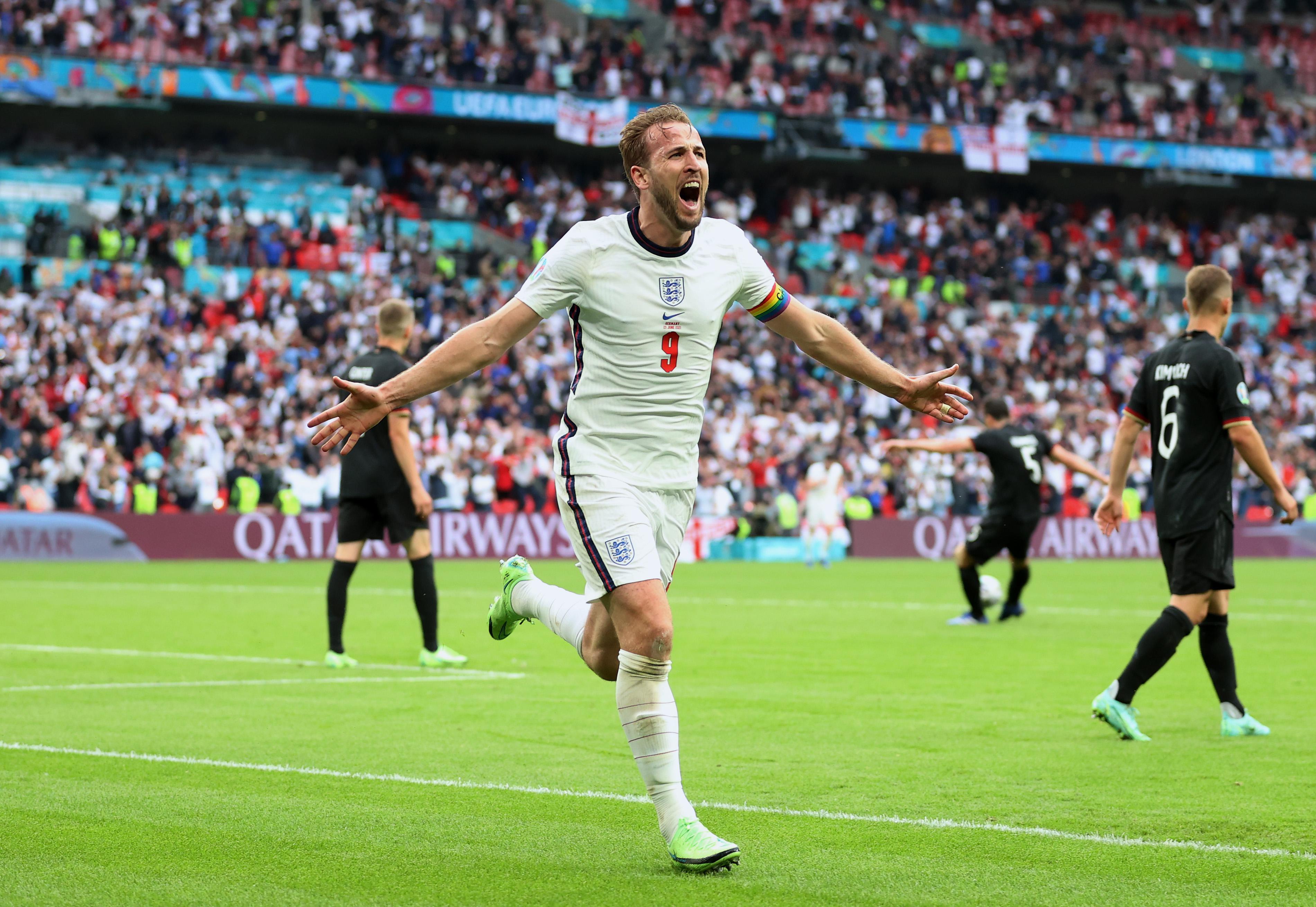 Inglaterra venció a Alemania y se clasificó a cuartos de final de la Eurocopa