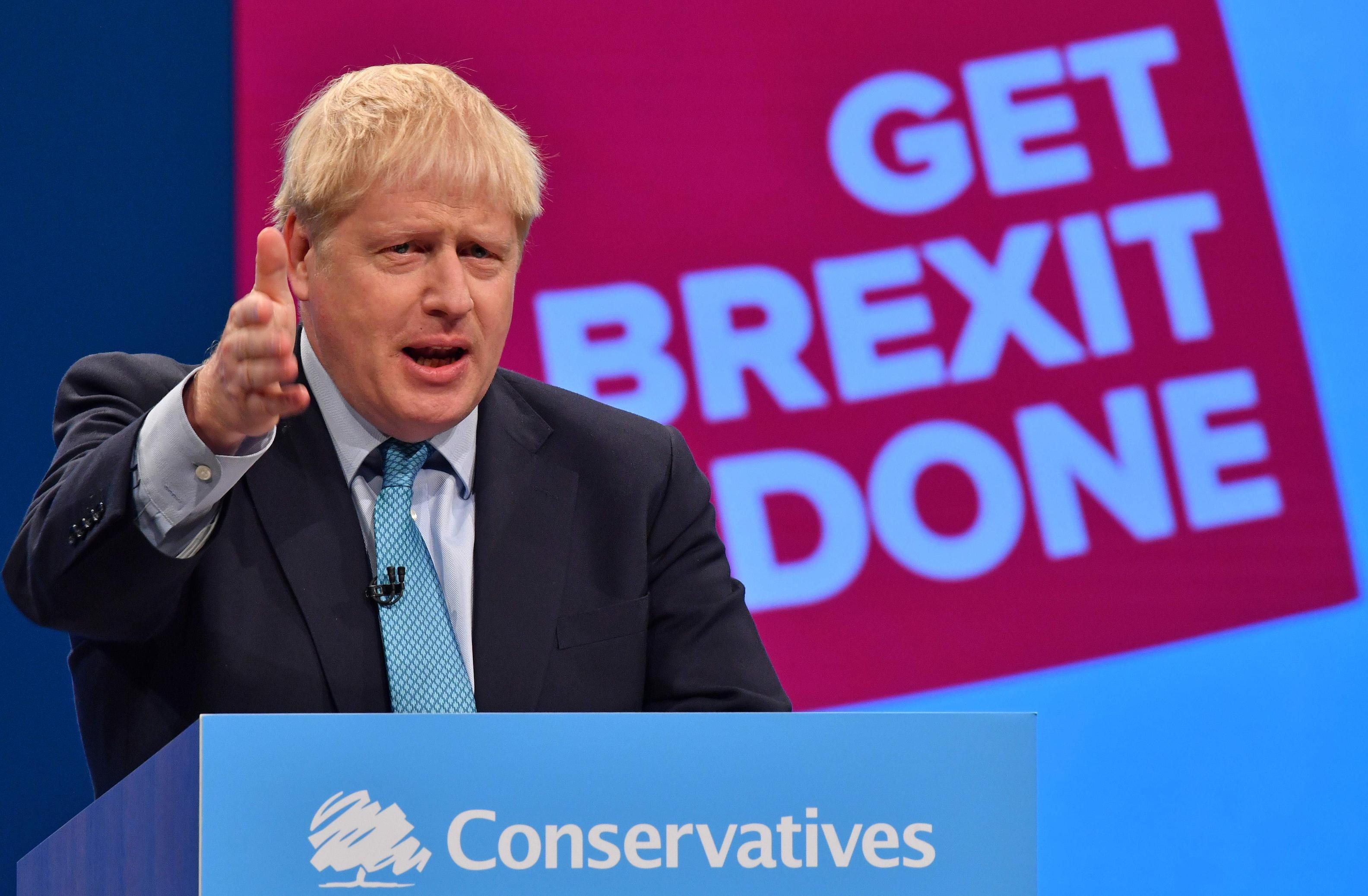 """Johnson se impuso en Gran Bretaña y anunció que va a """"ejecutar el Brexit"""""""