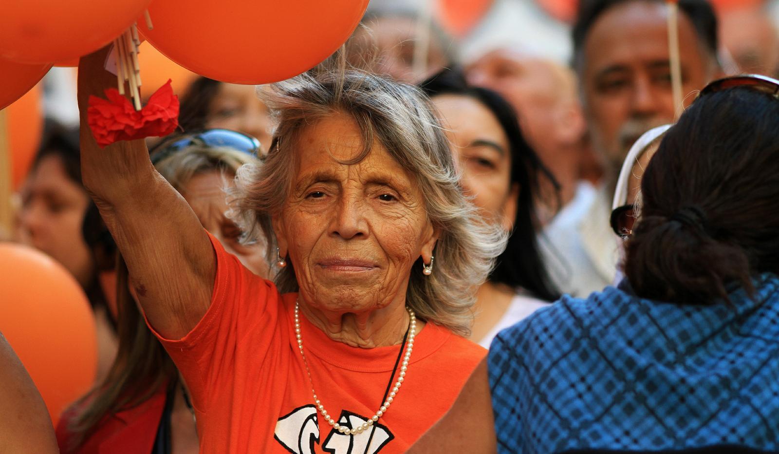 Abuelas En Pelotas fuerza, convicción y amor de abuela: sonia torres cumplió 90