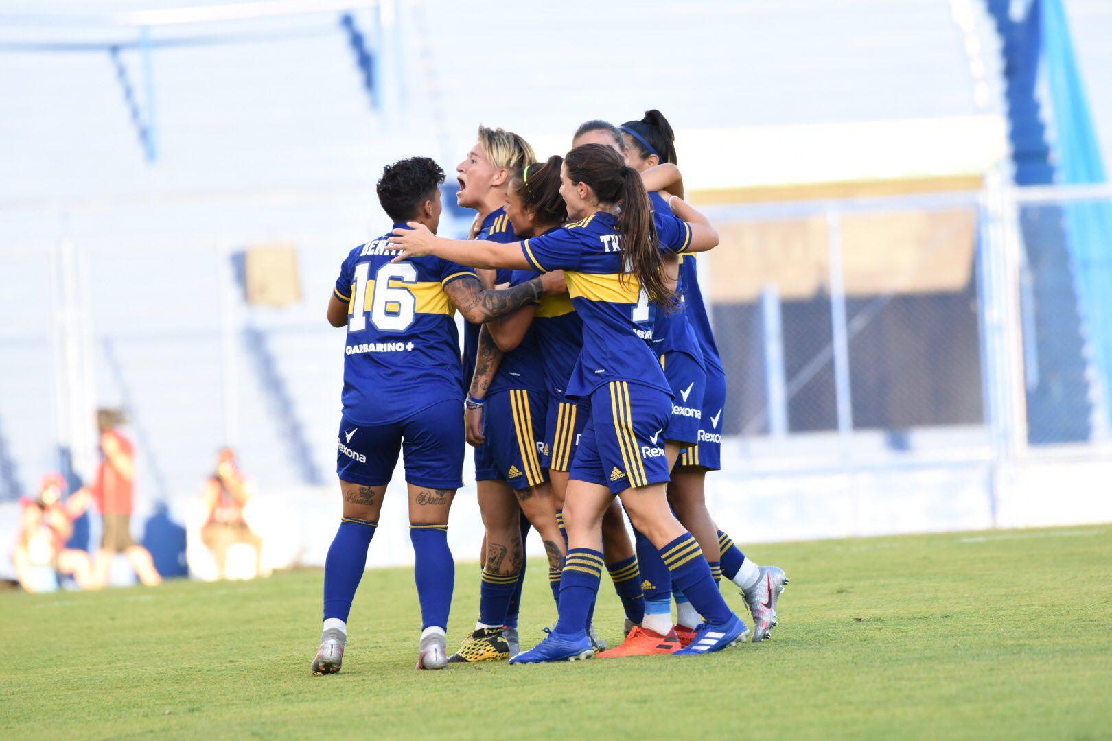 Boca está goleando a River en la final del fútbol femenino de AFA
