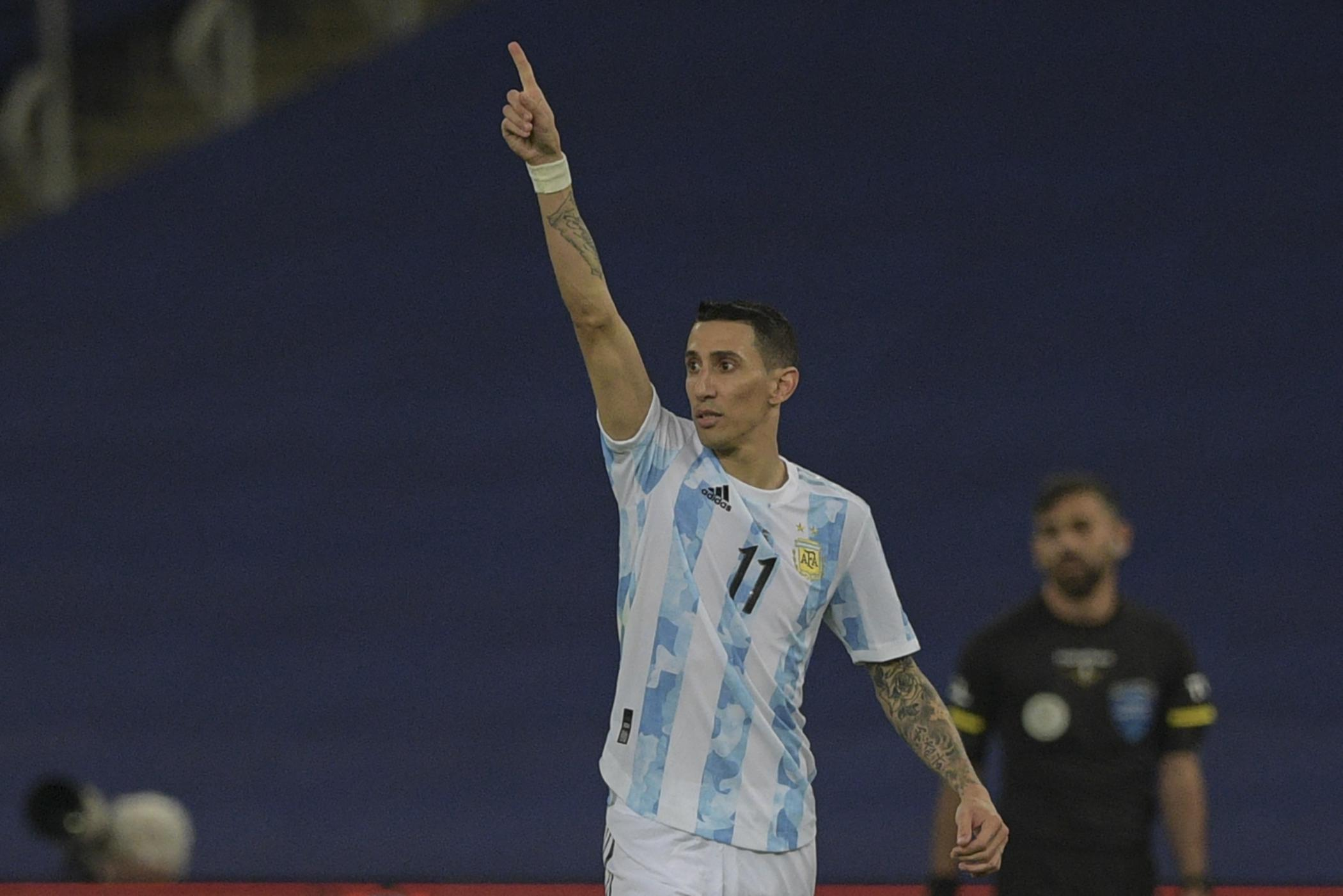 Copa América: el golazo de Ángel Di María que le dio el título a la Argentina