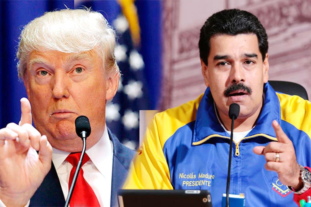 """Maduro llama a preparar """"una batalla"""" si Trump avanza con un bloqueo"""