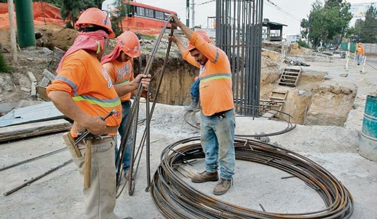 Industria de la construcción: moderada suba en el empleo durante agosto