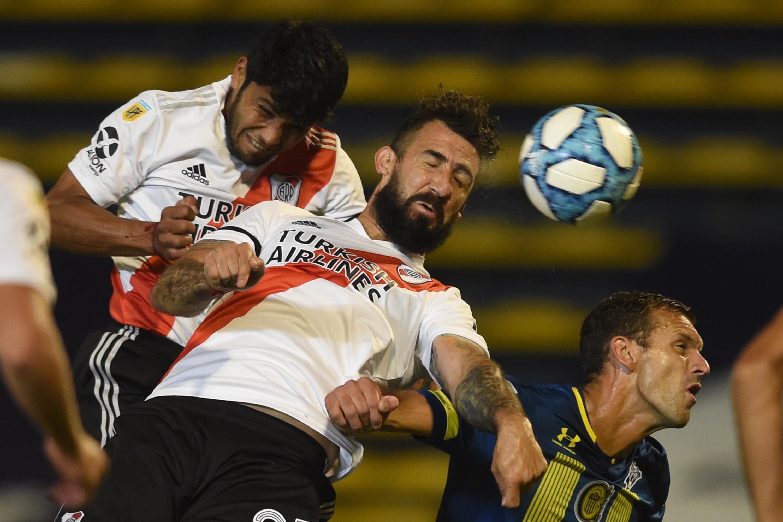 River venció a Rosario Central 2 a 0 y clasificó a la fase Campeonato