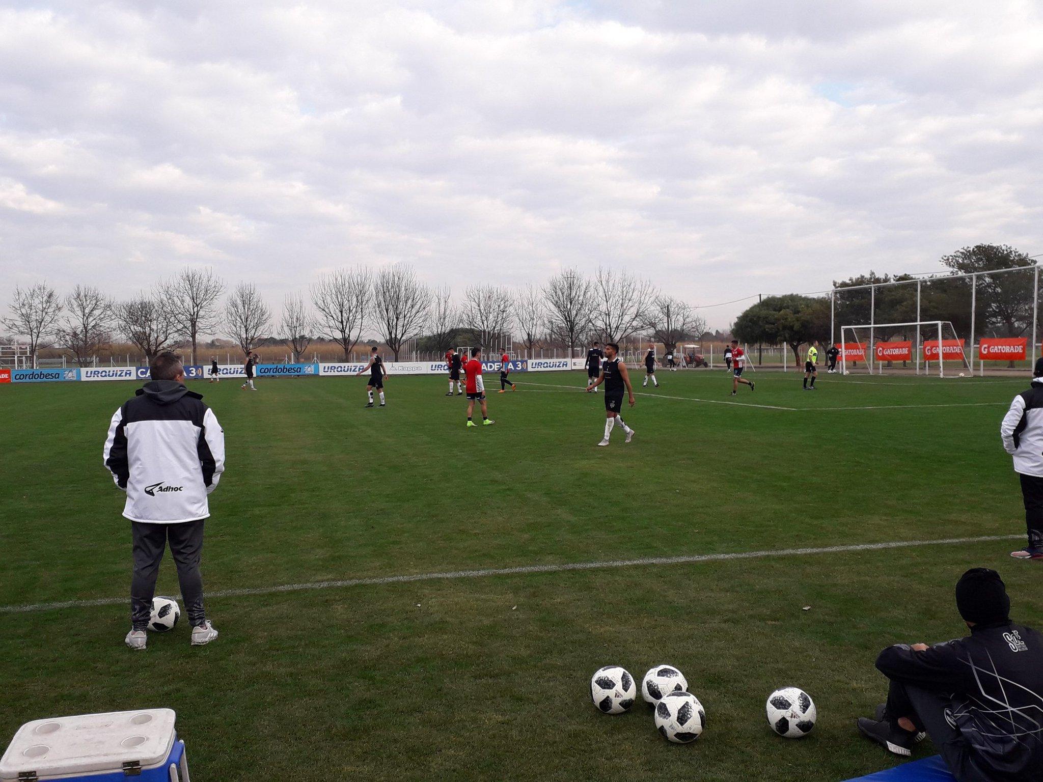 Vegetti marcó su primer gol en Belgrano, en un amistoso