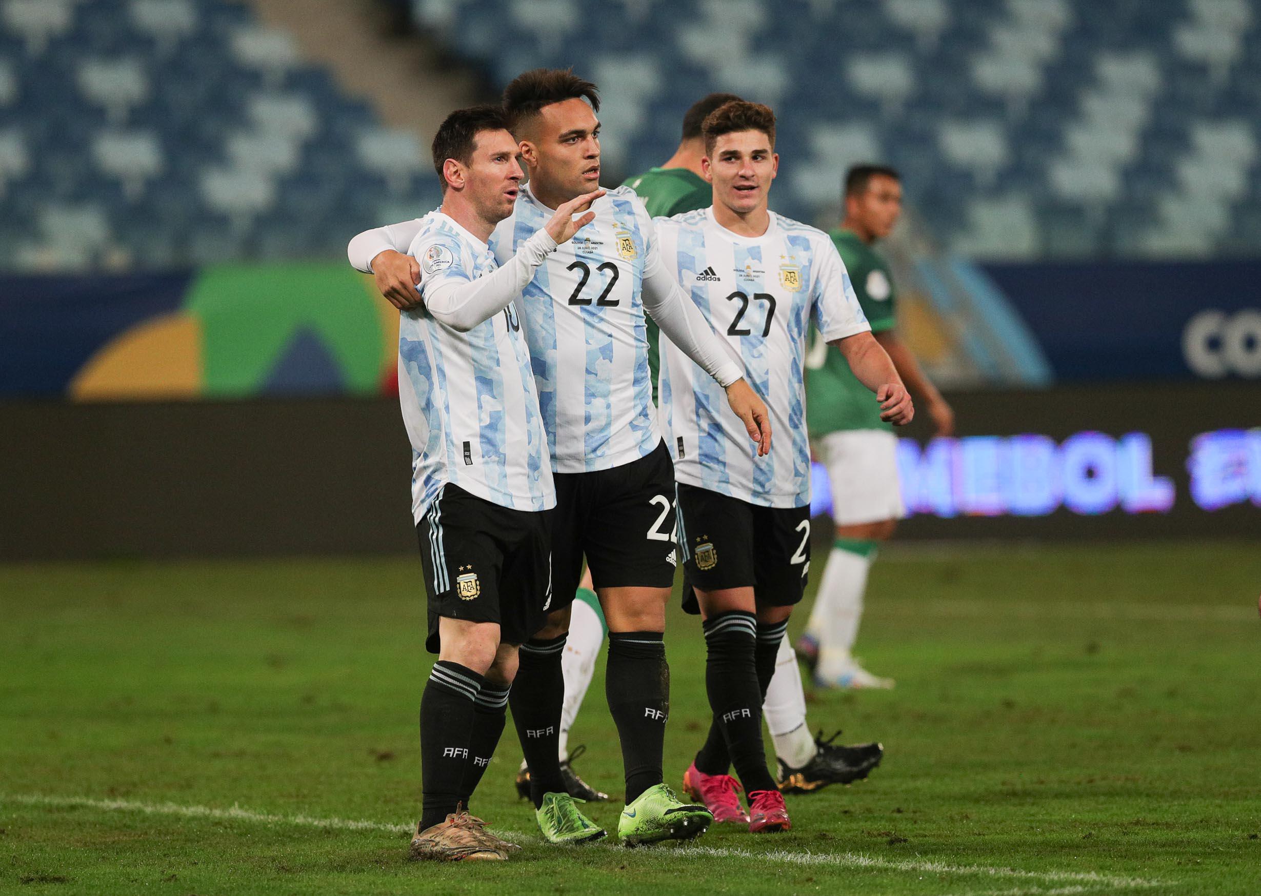 Argentina enfrenta a la dura Colombia y sueña con la final ante Brasil