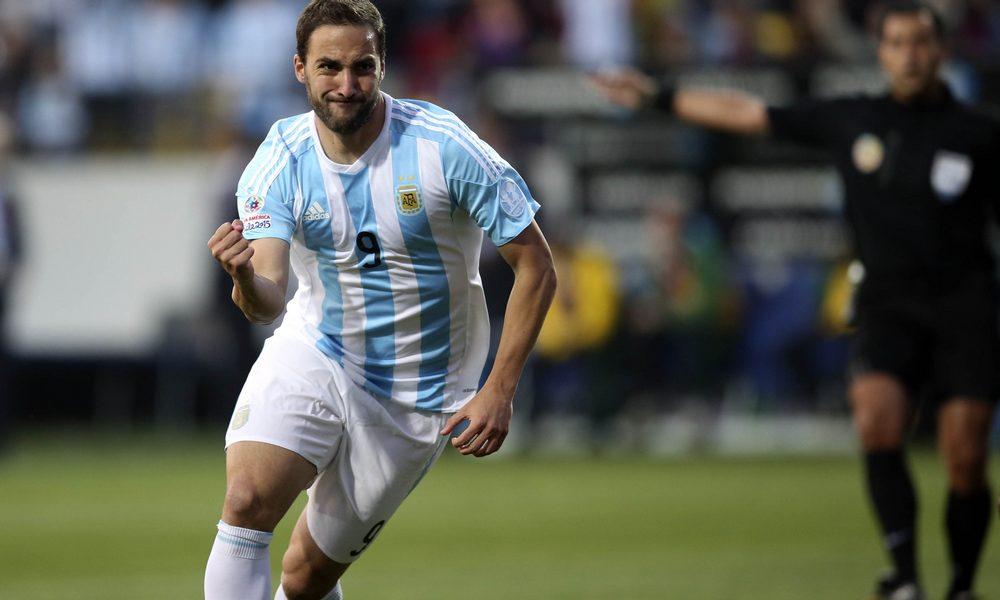 Gonzalo Higuain anunció oficialmente su retiro de la Selección argentina