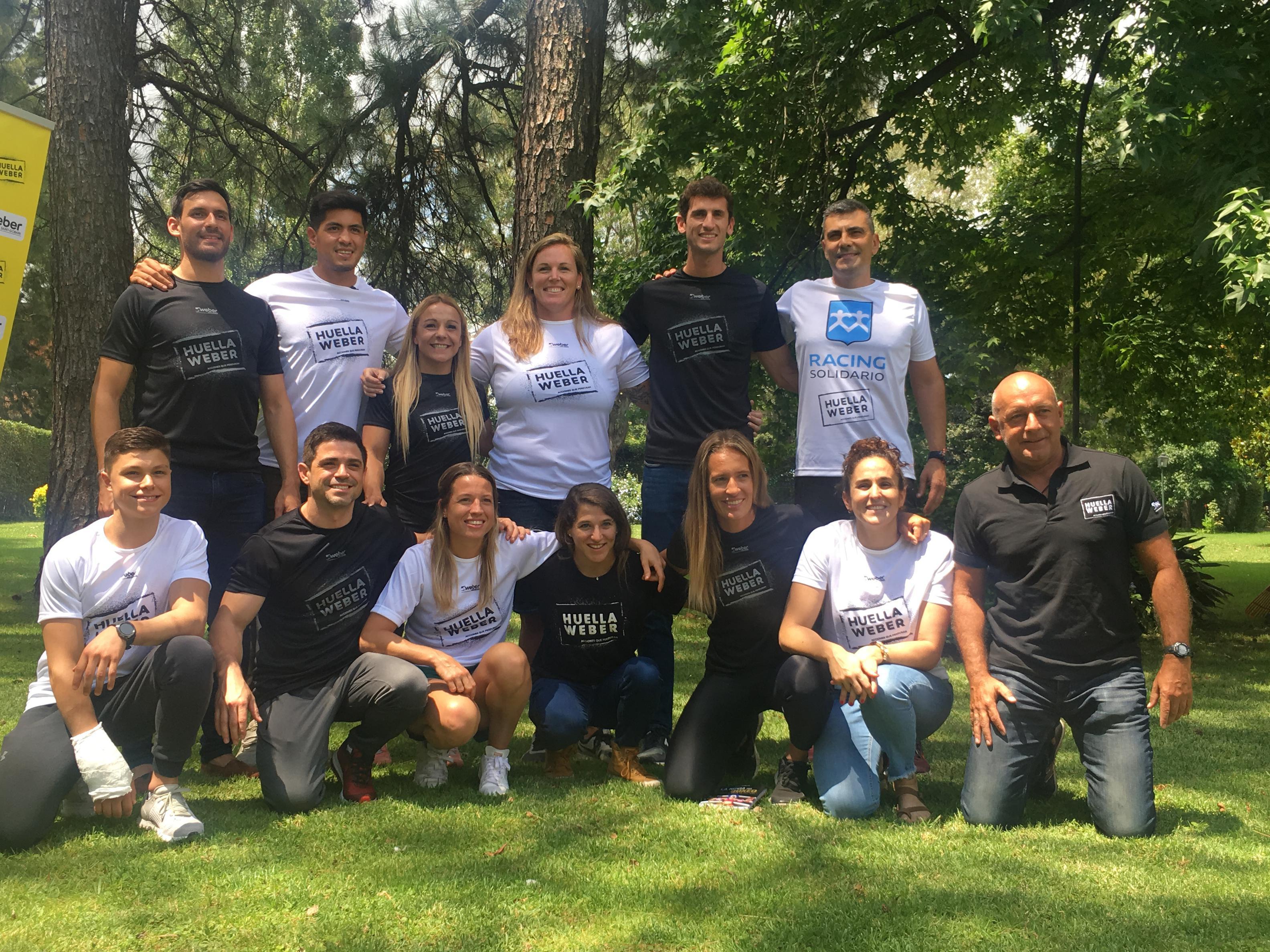 La Liga Solidaria: cómo ayudan los deportistas top del país