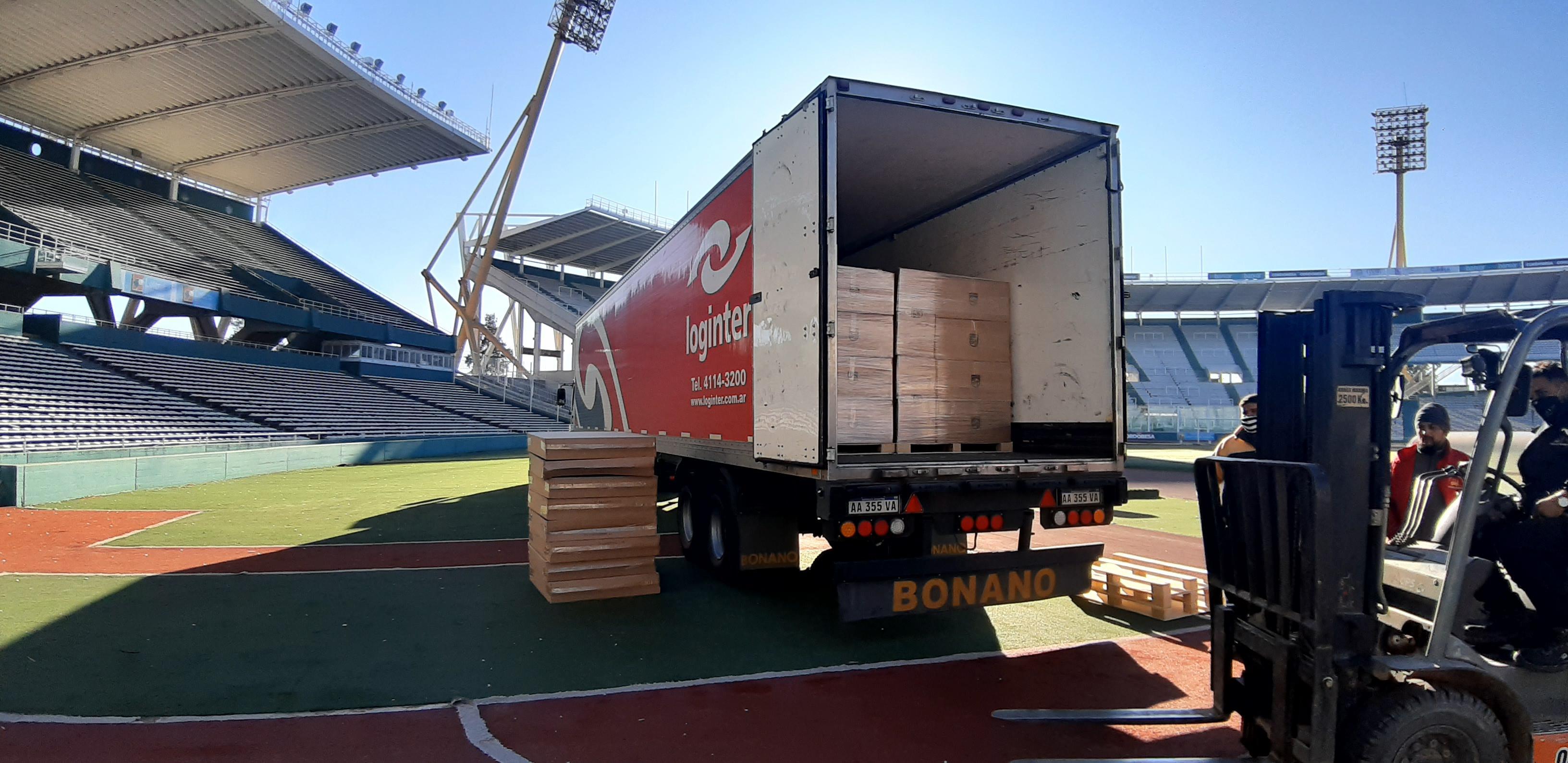 Remodelación en el Mario Kempes: el estadio ya recibió las nuevas luces