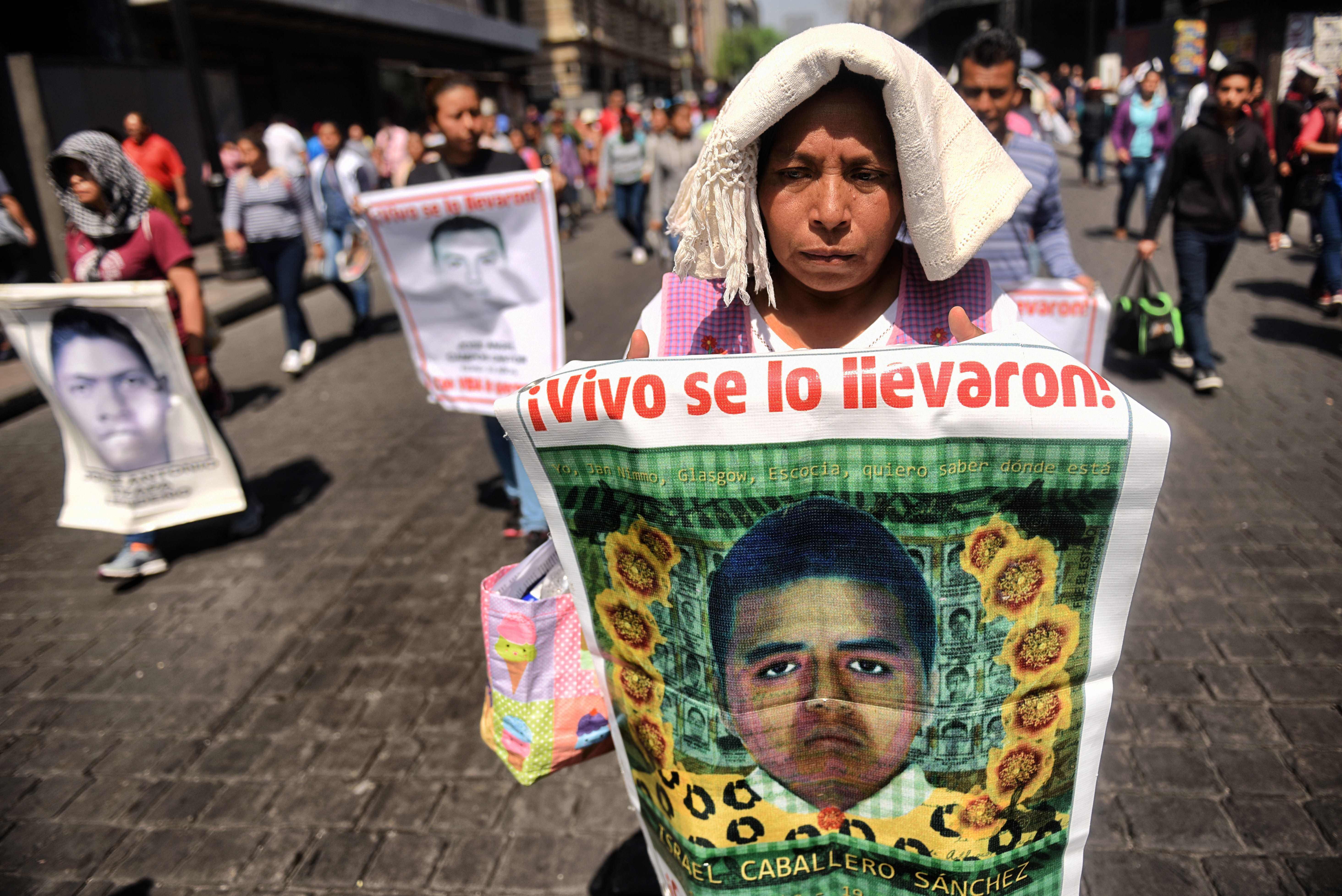 México: identifican restos de uno de los 43 desaparecidos de Ayotzinapa