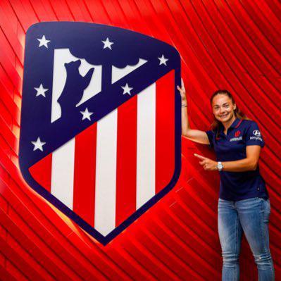 La argentina Estefanía Banini jugará en el Atlético de Madrid