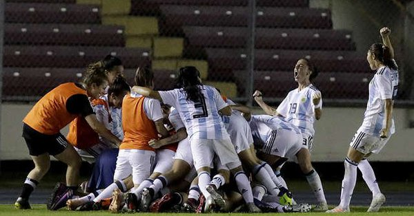 Fútbol femenino: ¡la Selección argentina clasificó al Mundial Francia 2019!