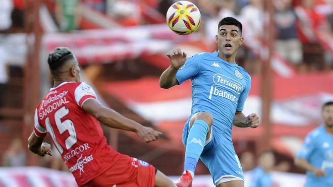 Osella mantiene una duda en Belgrano para recibir a Boca