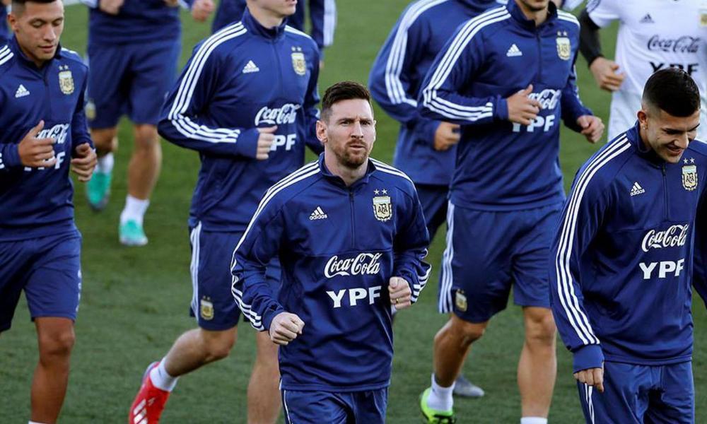 Messi, con problemas físicos en el trabajo de la selección