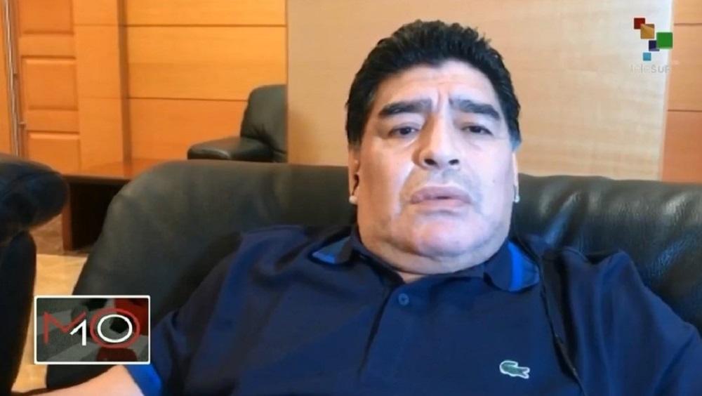 """Maradona habló de la Selección: """"Sin Messi, somos un equipito más"""""""