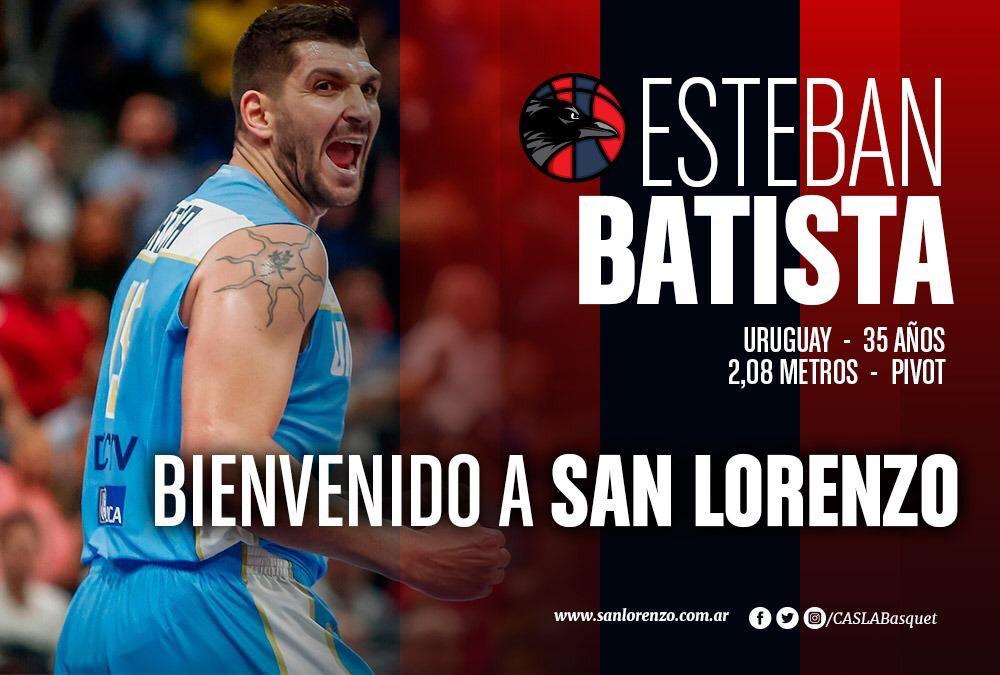 San Lorenzo se llevó ahora a Batista de Instituto