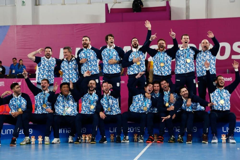 La selección de Handball ganó una nueva medalla de oro a Argentina