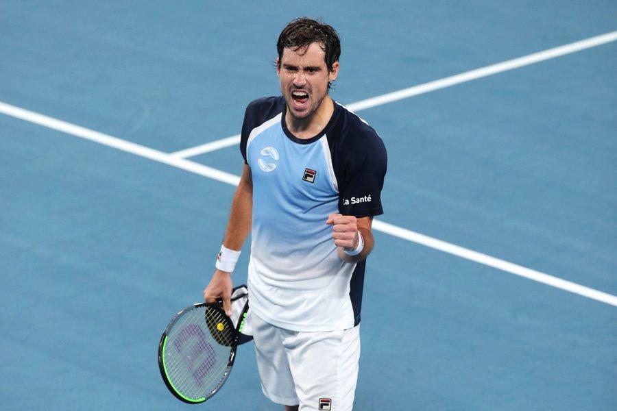 Argentina venció a Croacia y clasificó a cuartos en la ATP Cup