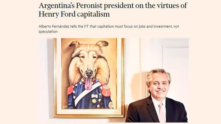Alberto Fernandez Financial Times