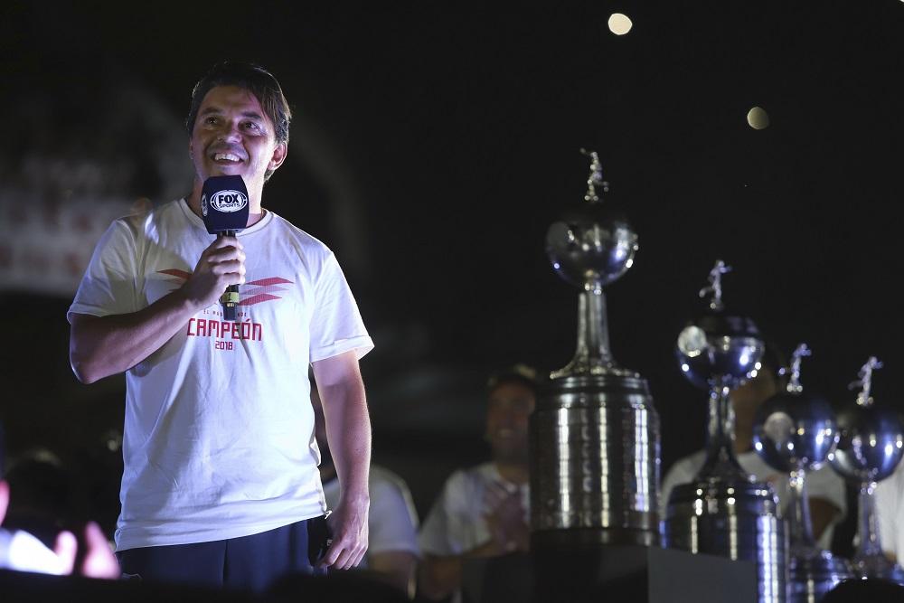 """Gallardo sobre la Libertadores: """"Ganamos la final más soñada del mundo"""""""