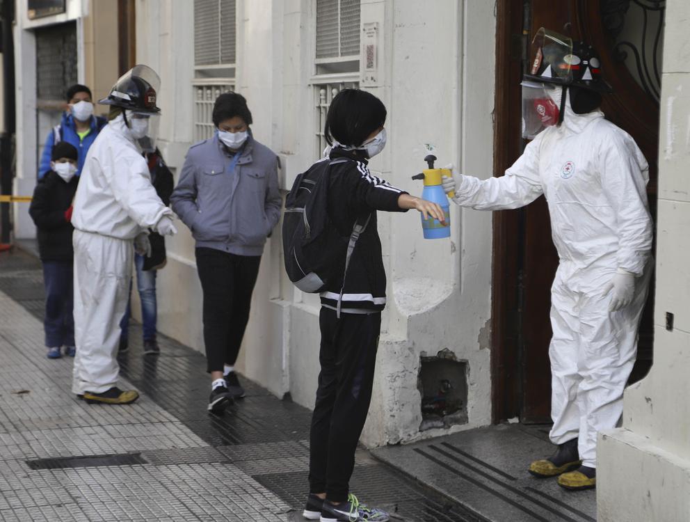 Argentina con coronavirus: confirman 6.840 nuevos casos y 235 muertes