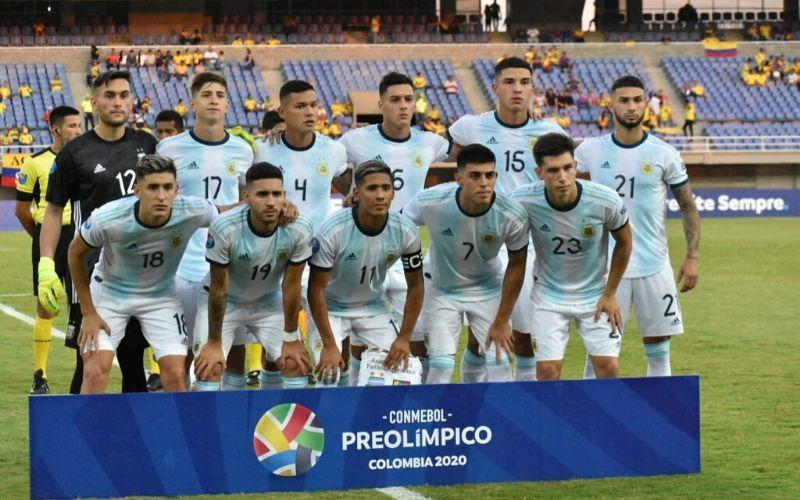 Sub 23: Argentina venció a Venezuela con presencia cordobesa