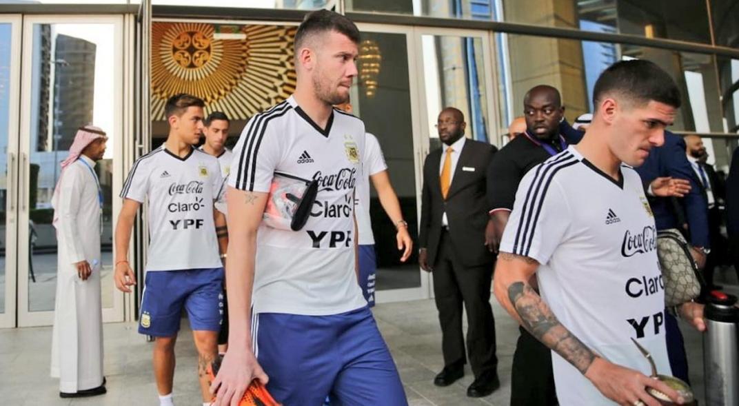 Scaloni elige otras opciones sobre Guido Herrera en la Selección