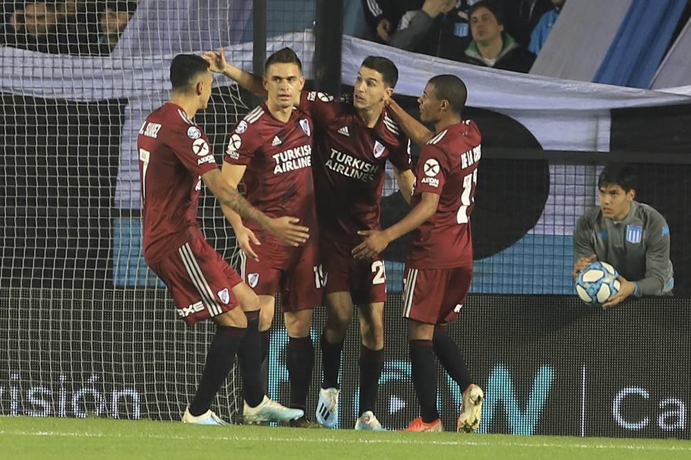River aplastó a Racing con una goleada histórica en Avellaneda: 6 a 1