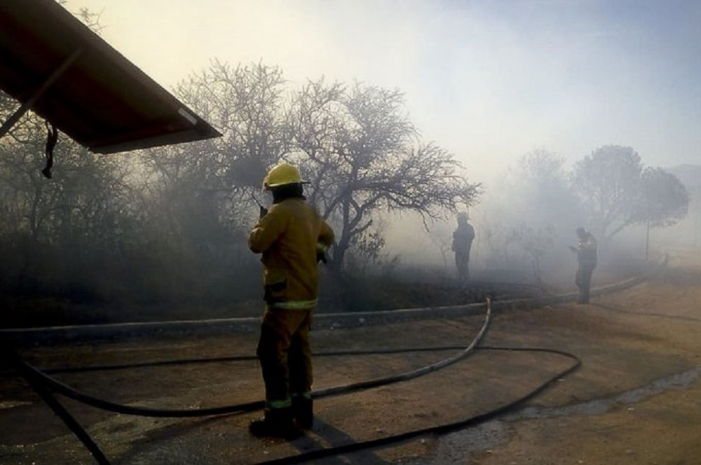 Incendio fuego bomberos @mingobcba