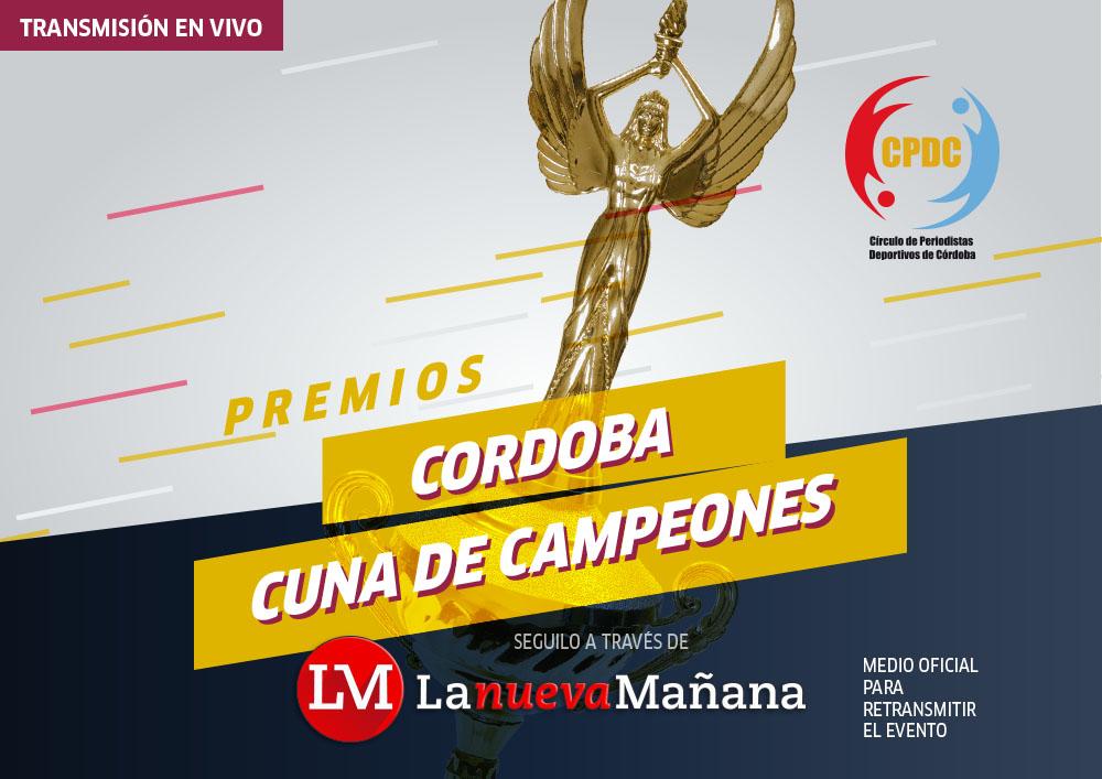 Realizan la 40ª entrega de los Córdoba Cuna de Campeones