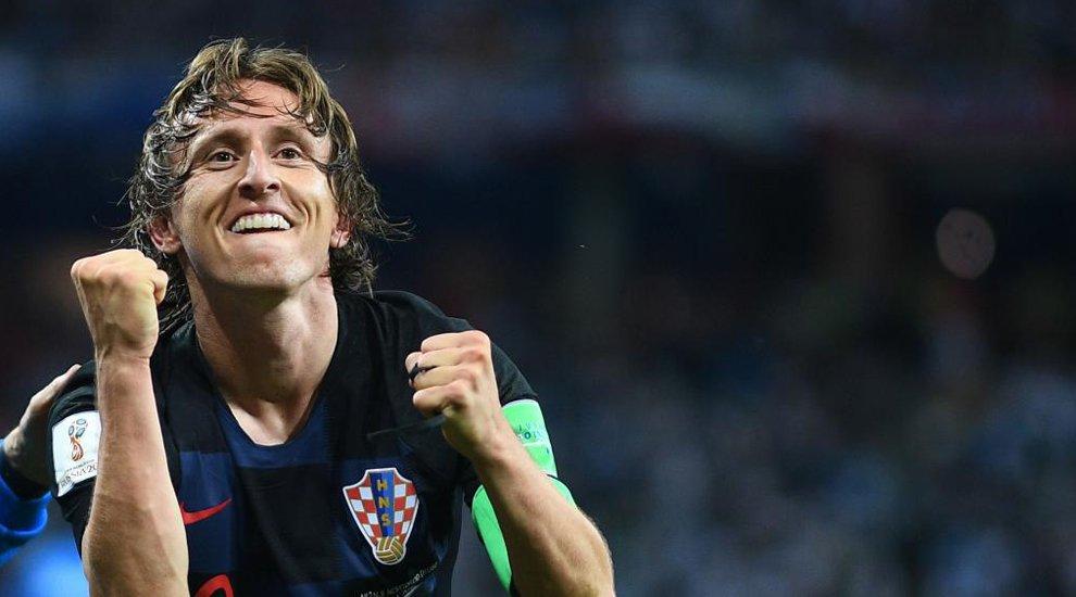 "Luca Modric: ""Le deseo mucha suerte a la Argentina"""