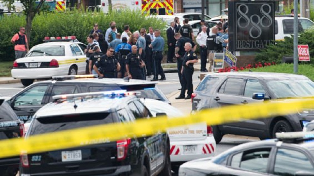 Al menos cinco muertos tras un tiroteo en un periódico de EE.UU.