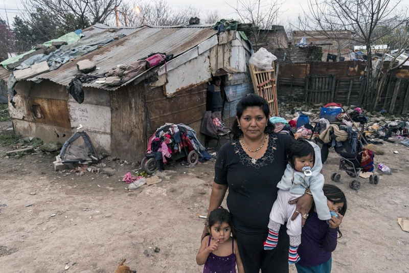 Resultado de imagen para imagenes pobreza en argentina