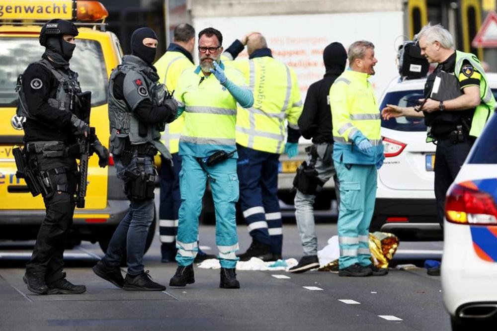 Holanda: al menos un muerto y varios heridos en un tiroteo en Utrecht