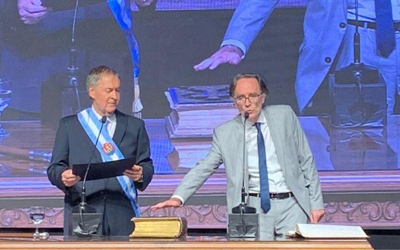Giordano jura en la provincia 2019