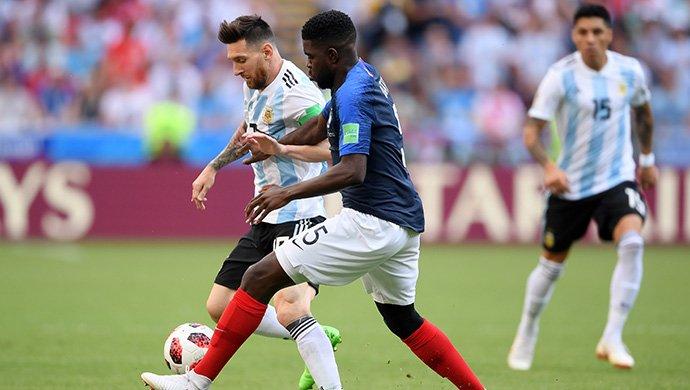 Argentina quedó afuera del Mundial: Francia le ganó 4-3 a la Selección