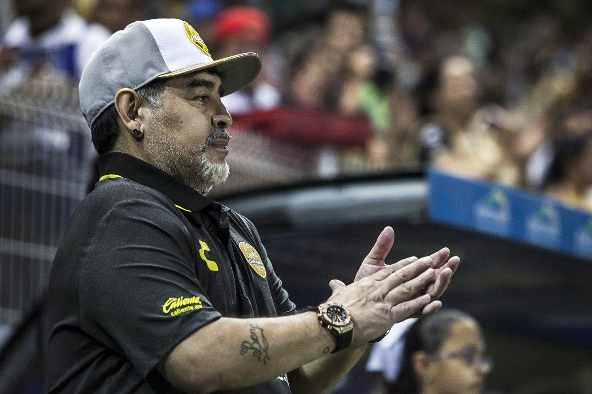 """Maradona tras el escándalo de la Superfinal: """"el Presidente no sabe lo que es el barro"""""""