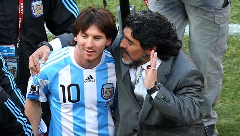 Maradona le pedirá perdón a Messi por sus críticas