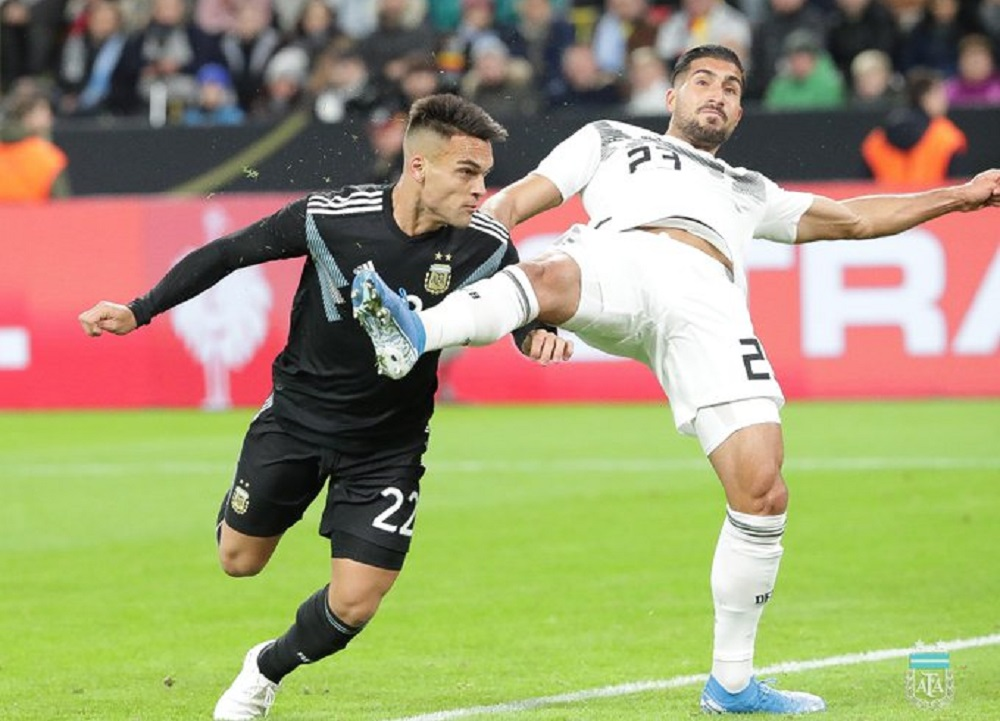 Argentina logró dar vuelta el partido y empata en un amistoso ante Alemania