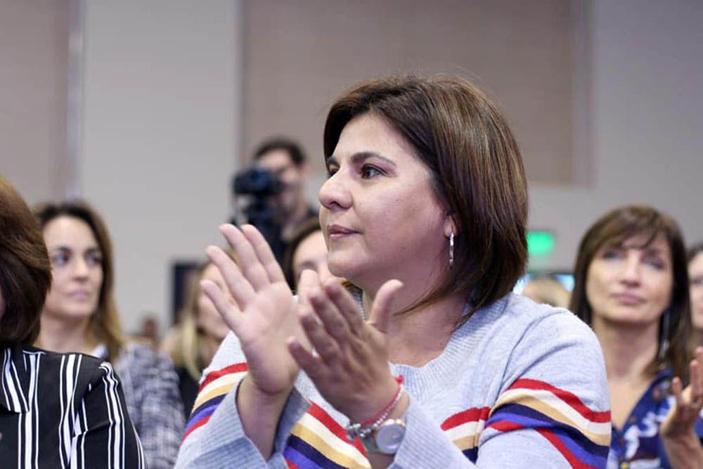 Nadia Fernández legisladora