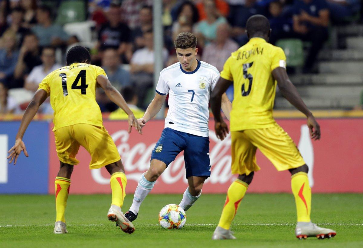 Los juveniles de Argentina eliminados de la Copa del Mundo sub-20