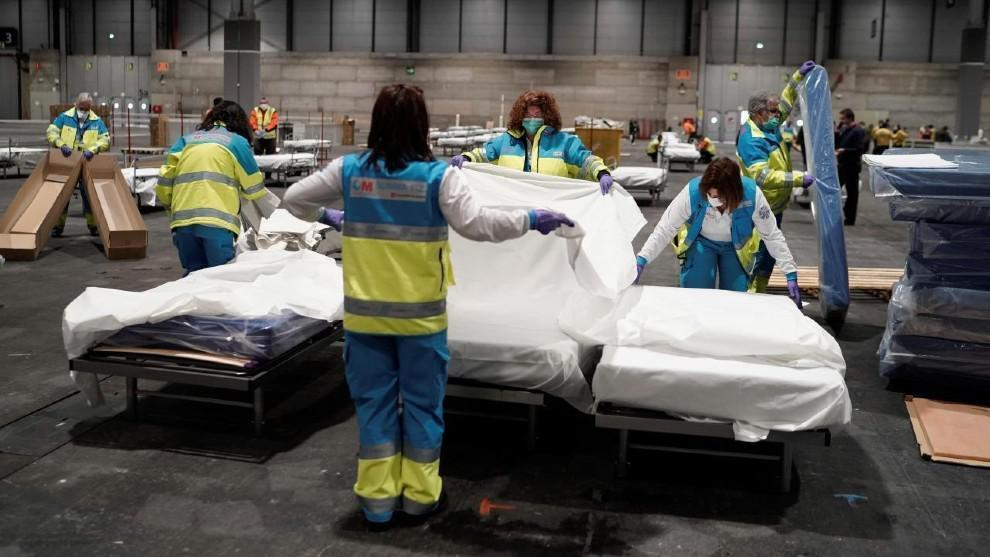 Coronavirus: España supera a China en cantidad de muertos
