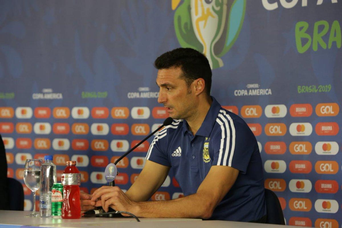 Lionel Scaloni no tuvo autocrítica tras la derrota ante Colombia