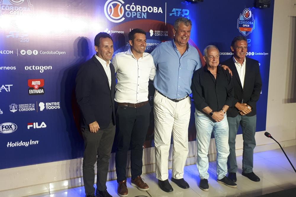 El Córdoba Open fue presentado en el Kempes