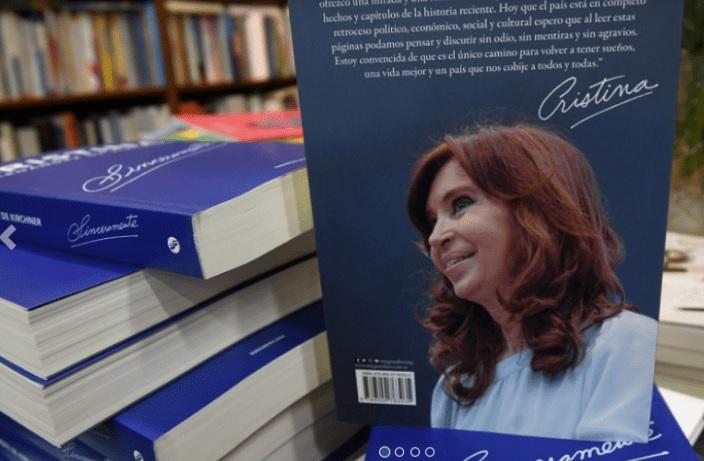Resultado de imagen para Cristina Fernández presenta su libro - youtube