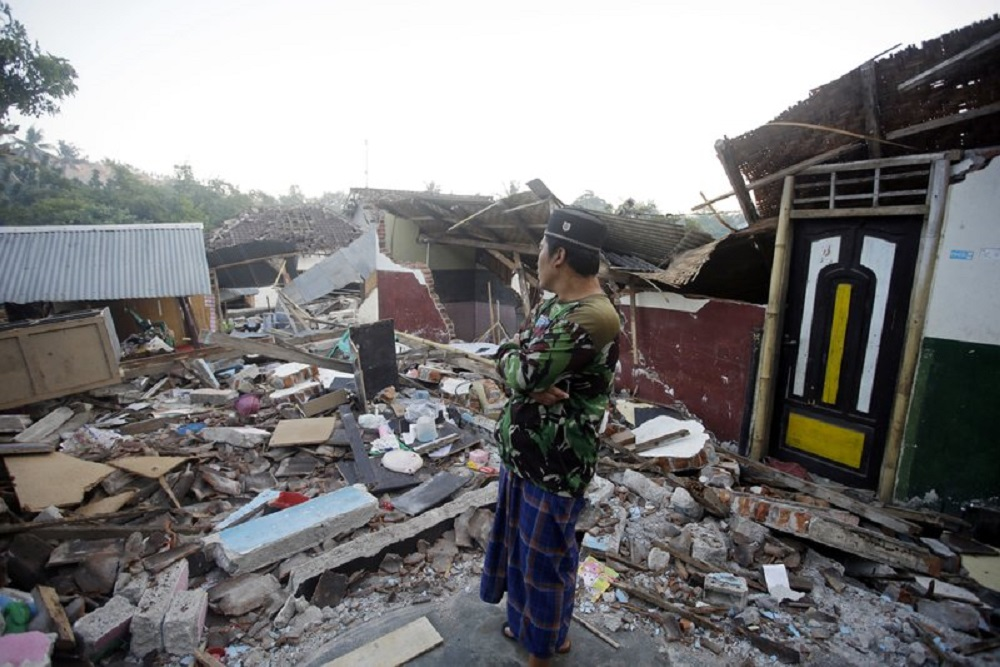 terremoto lombok indonesia by AP